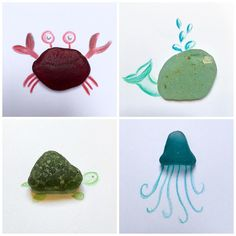 Day 22 for the #beachphotochallenge SEA LIFE Crab & Whale  Turtle & Jelly Fish  (no jellyfish emoji :( #seaglass #californiaseaglass #seasideseaglass #seasidecalifornia #sanfrancisco #sanfranciscocalifornia #sanfranciscoseaglass #californiaseaglass #ohiobeachglass #clevelandbeachglass #ashesofbeautydesigns #ashesofbeauty #therapy #beachcomber #beachfinds #beachcomb #beachcombingfinds #loverofthesea #loverofseaglass #sealife Sea Glass Crafts, Sea Crafts, Sea Glass Art, Crafts To Do, Crafts For Kids, Stained Glass, Whale Crafts, Sea Art, Wal