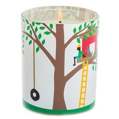 R Nichols Tree House Candle