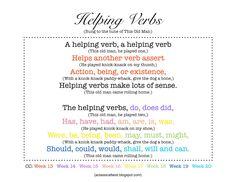 1000+ images about Teaching Verbs on Pinterest | Irregular verbs, Verb ...