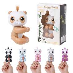 2018 Hot Cute Toys For Boys Kids Girls Spot Smart Finger Monkey Colorful Fingertip panda Christmas Gifts One Piece Best Kids Toys, Toys For Boys, Kids Girls, Beyblade Toys, Cute Toys, Toys Online, Toy Store, Educational Toys, Monkey