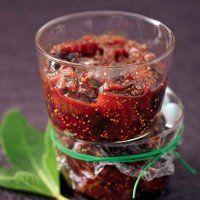 Chutney de figues et oignon rouge