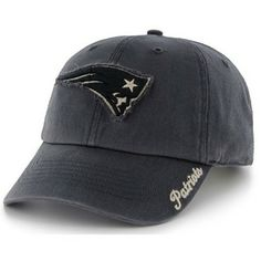 Official New England Patriots ProShop - Ladies Patriots '47 Brand Braylin Cap-Navy