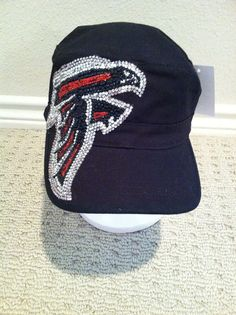 ATL Falcons bling hat to wear with my jersey! Falcons Gear, Falcons Football, Football Fever, Football Stuff, Football Team, Atlanta Falcons Rise Up, Eastern Star, Team Apparel