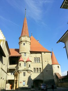 Avenches Castle - Switzerland