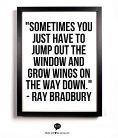 truth about jumping--ray bradbury