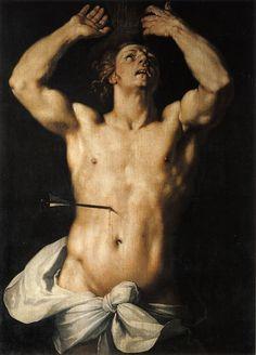 Cornelis van HaarlemSaint Sebastian 1591