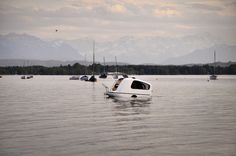 Amphibious Camper Allows Travel Both on Land and on Water - My Modern Met