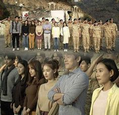 DOTS - Descendants of the Sun Yoo Shi Jin - Song Joong Ki, Kang Mo Yeon - Song Hye Kyo