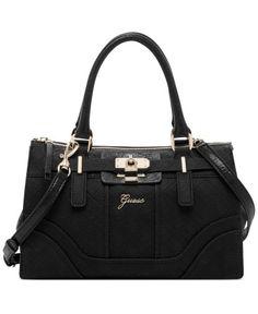 fc45347bb7f0 GUESS La Vida Logo Small Satchel - GUESS - Handbags  amp  Accessories -  Macy s Guess
