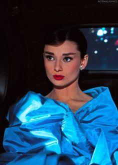 Audrey Hepburn. So classy!.