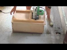 Build this simple Table Saw and fence to use in a pinch on a job site or to get more out of your circular saw. subscribe - https://www.youtube.com/user/rusti...