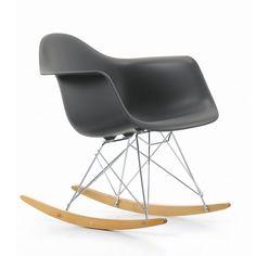 Vitra - Eames Plastic Armchair RAR, basalte