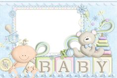 Digital Scrapbook Paper, Baby Scrapbook, Baby Boy Background, Baby Girl Clipart, Baby Shower Niño, Baby Shower Invitaciones, Baby Images, Baby Shower Decorations For Boys, Baby Box