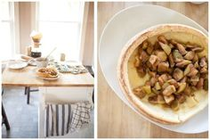 Whole Wheat Dutch Baby Pancakes with Cinnamon Apples | Naturally Ella