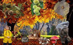 Deze praatplaat in het thema herfst kun je bekijken op de website van Juf Milou.