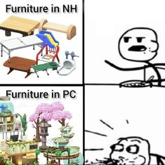 Animal Crossing Fan Art, Animal Crossing Memes, Animal Crossing Characters, Relaxing Art, All About Animals, Really Funny Memes, My Animal, Fun Games, Anime Manga