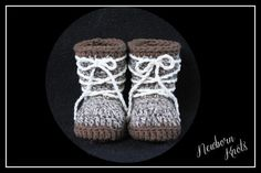 Crochet Pattern for Boys or Girls All Tied Up Baby by NewbornKnots
