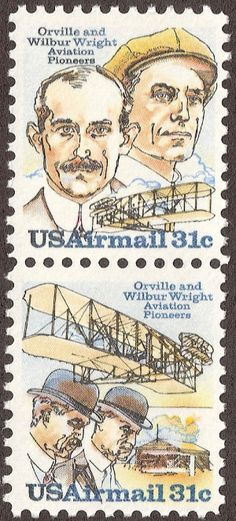 The Wright brothers, Orville and Wilbur  two American brothers, inventors, and aviation pioneers who are credited with inventing and building the world's first successful airplane and making the first controlled, powered and sustained heavier-than-air human flight, on December 17, 1903.
