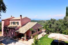 Beautifully positioned private residence, in Kamara Central Corfu. Corfu Island, Corfu Greece, Villas, Cabin, House Styles, Beauty, Home Decor, Decoration Home, Room Decor