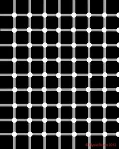 Black and White Optical Illusions