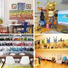 Some of us still love collecting action figures, anime, manga, movie characters...aka toys. Some have even gone so far as to lovingly decorate their homes and offices with passionately curated and staged collections as the centerpiece of their homes. Here are 10 of my favorites that take a hobby well into the realm of a lifestyle.