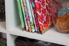 Fabric Organization on the Cheap - girl. Inspired.