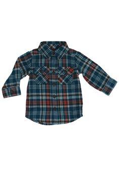 Luis Flannel Baby Shirt