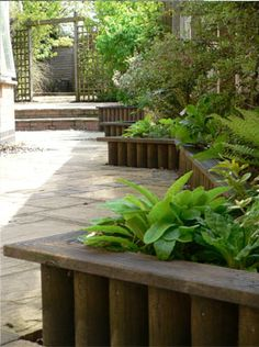 1000 images about small urban gardens on pinterest for Small narrow garden designs