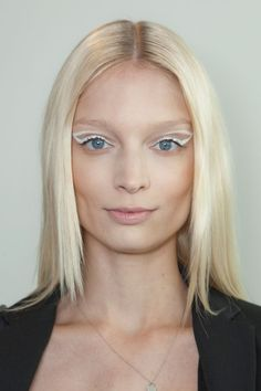 Best Spring 2013 Runway Makeup // ethereal white eyeshadow at Ohne Titel #NYFW