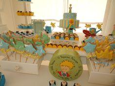FESTA CLEAN Pequeno Principe Little Prince Party, The Little Prince, Shower Bebe, Baby Shower, Baby Birthday Decorations, Prince Birthday, Diy Party, Christening, First Birthdays
