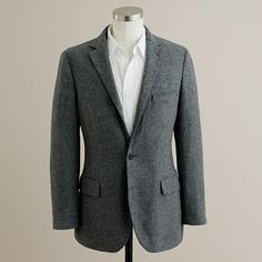 a tweed sportcoat totally replaces the need for a winter coat.