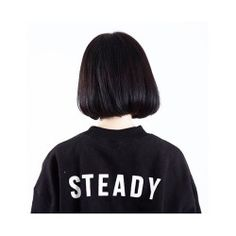 Find images and videos about hair, black and beauty on We Heart It - the app to get lost in what you love. Girl Short Hair, Short Hair Cuts, Korean Short Hair Bob, Korean Bob, Asian Bob Haircut, Haircut Short, Korean Haircut, Shot Hair Styles, Black Bob