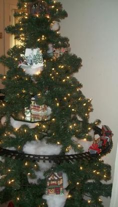 Travel the world around your Christmas Tree!