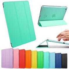 iPad Mini Case, iPad Mini 2/3 Retina Case, ESR Yippee Color Series Trifold Case Smart Cover for iPad Mini 2/3 with Retina Disply_ Precise Cutout for Dual microphonesl (Mint Green)