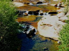 Oak Creek downstream, near Slide Rock State Park
