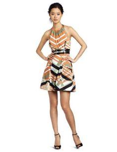 Pocket strip dress