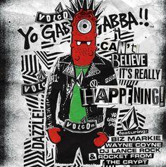 Free Download: Volcom X Yo Gabba Gabba! feat. Biz Markie and The Flaming Lips' Wayne Coyne