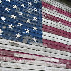 Driving in rural America the probability of seeing Old Glory on the side of an old barn is highly likely, and always welcomed.