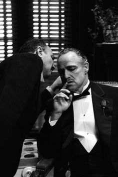 """Marlon Brando as Don Vito Corleone in """"The Godfather"""" Marlon Brando The Godfather, Godfather Movie, The Godfather Poster, Great Films, Good Movies, The Godfather Wallpaper, Don Corleone, Fredo Corleone, Photo Star"""