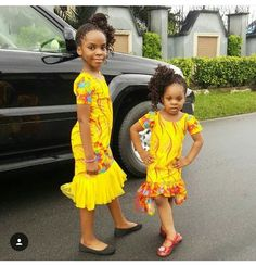 Kids Dresses 2019 : How to Stylishly Dress Your Kids For Events ShweShwe 1 Ankara Styles For Kids, African Dresses For Kids, African Babies, African Children, Latest African Fashion Dresses, African Print Dresses, African Print Fashion, Africa Fashion, Girls Dresses