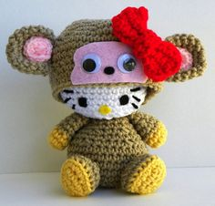 Hello Kitty Monkey $35