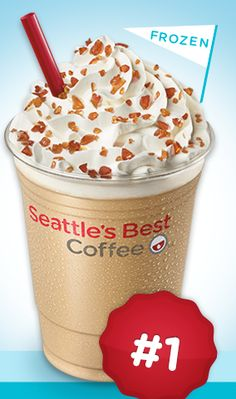 FREE Small Frozen Caramel Candy Latte at Seattles Best Coffee Retail Locations May 8-21
