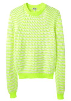 Kenzo / Striped Knit Pullover. Price is insane but pinning for inspiration