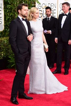 Joshua Jackson and Diane Kruger [Photo by Amy Graves]