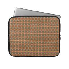 """Laptop Sleeve """"Autumn Colors"""" Vers01. Herbstliche Farben, Natur- und Erdtöne. Auch in anderen Größen erhältlich. Grafik und Entwurf bei ArianneGrafX©2012"""
