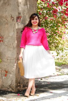 VIBRANT VALENTINE // girly valentine's day outfit