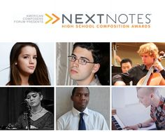 American Composers Forum | American Composers Forum Announces the Winners of the NextNotes(TM) High School Composition Awards