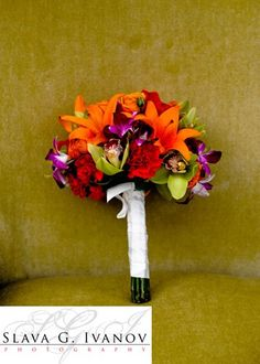 Tropical Flowers Bouquet by Houston Wedding Florist | Sicola's |