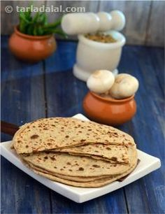 This recipe is sure to tempt you to come back for another serving! Whether served as it is or with a vegetable, this is definitely a delicacy. Mashed potatoes and low fat curds make these Parathas soft and delicious, while soya flour increases its nutritive value by adding protein, iron and zinc.