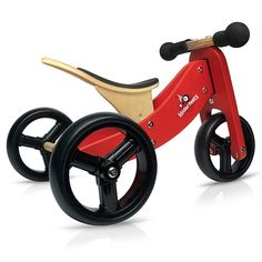 Kinderfeets TinyTot 2-in-1 Balance Bike and Tricycle